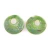 Lamp Bead Revolution Disc 2Pc 20mm Jade